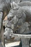 Pferden-Statue Stockfotos