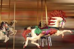 Pferdenfahrt Lizenzfreie Stockfotografie