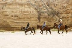 Pferdenreiten Lizenzfreie Stockbilder