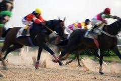 Pferdenrennen Stockfotos