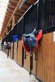 Pferdenstall Stockfoto