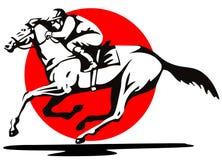 Pferderennen vektor abbildung