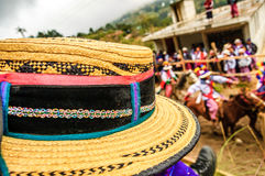 Pferderennen der Allerheiligen, TODOS Santos Cuchumatan, Guatemala Lizenzfreie Stockfotos