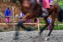 Pferderennen der Allerheiligen, TODOS Santos, Guatemala Stockfotos