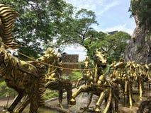 Pferdeskulptur Stockbild