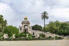 Pferdestatue in Park de la Ciutadella in Barcelona Stockfotografie