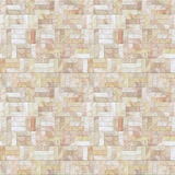 Pfirsich-Steinfußboden-nahtloses Muster Stockbilder