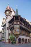The Pfister house in Colmar Stock Photography