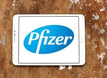 Pfizer logo Stock Photos