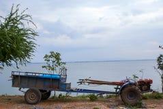 Pflüger für Wand hinten von Thailand Stockfotos