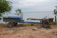 Pflüger für Wand hinten von Thailand Stockbild