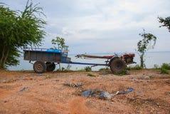 Pflüger für Wand hinten von Thailand Lizenzfreies Stockfoto