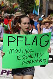 PFLAG at the 10th Annual St. Pete Pride Parade Stock Photos