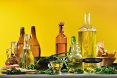 Pflanzenöl Stockfotografie