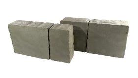 Pflasterziegel, Betonblock für die Pflasterung Lizenzfreie Stockbilder