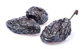 Pflaumenfrüchte in der Nahaufnahme stockfoto