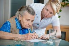 Pflegeheim Lizenzfreie Stockbilder