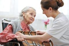 Pflegeheim lizenzfreie stockfotos