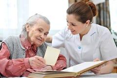 Pflegeheim lizenzfreies stockbild