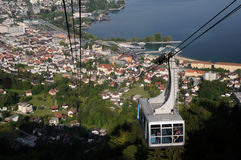 Pfänder Cable car Bregenz Royalty Free Stock Photography