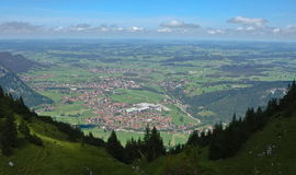 Pfonten in Allgau Bavaria Germany. Royalty Free Stock Photo