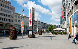 Pforzheim the main street Stock Images