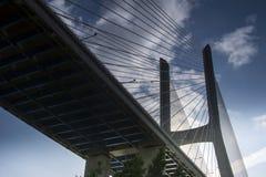Pfosten-Brücke Stockbild