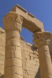 Pfosten des Tempels von Kalabha (Ägypten) Lizenzfreie Stockbilder