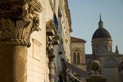 Pfosten, Dubrovnik. Lizenzfreie Stockfotografie