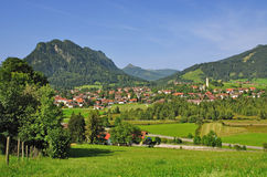 Pfronten, Allgaeu, Baviera Immagine Stock Libera da Diritti