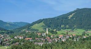 Pfronten, Allgaeu, Germania Immagine Stock Libera da Diritti