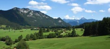 Pfronten w Bavaria Niemcy. Zdjęcia Stock