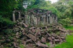 Pfropfen Mealea-Schloss, Khmer-K?nigreich stockbilder
