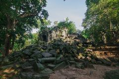 Pfropfen Mealea-Schloss, Khmer-K?nigreich lizenzfreie stockfotografie