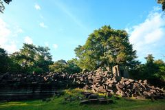 Pfropfen Mealea-Schloss, Khmer-K?nigreich lizenzfreie stockfotos