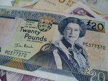 20 Pfund Lizenzfreie Stockbilder