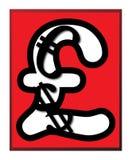Pfund-Dollar-Euro-Zeichen Lizenzfreie Stockfotos