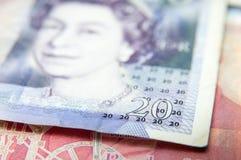 20 Pfund Rechnung Stockfotos