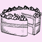 Pfundkuchen stock abbildung