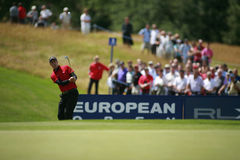 PGA European Open at the London Golf Club Ash Kent. England's Ross Fisher competing at the PGA European Tour European Open at the London Golf Club Ash Kent Stock Images
