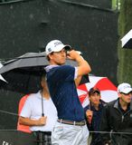 PGA-Progolfspieler Adam Scott Lizenzfreie Stockfotografie