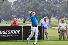 PGA tour pro Fredrik Jacobson Stock Images