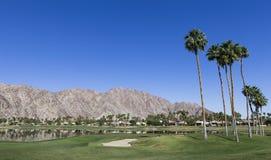 Pga västra golfbana, Palm Springs, Kalifornien Arkivfoto
