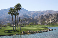 Pga west golf course, ca. Paga west golf course, palm springs, california royalty free stock images