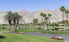 Pga West golf course, Palm Springs, California Royalty Free Stock Image