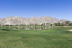 Pga West golf course, Palm Springs, California Royalty Free Stock Photos