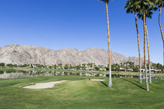 Pga West golf course, Palm Springs, California Royalty Free Stock Photography