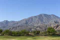 Pga West golf course, Palm Springs, California. Pga West golf course in La Quinta, Palm Springs, California, usa Royalty Free Stock Image