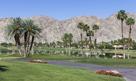 Pga West golf course, Palm Springs, California stock photography