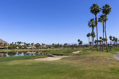 Pga West golf course, Palm Springs, California Stock Images
